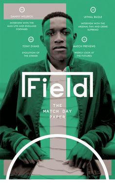 The Field (UK)  Here a whole new mag, Field magazine from the UK, newspaper-like, and what an ace logo!!!Read more via fab MagCulture