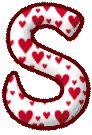 S of hearts