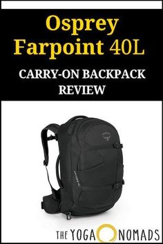 2a87afcb6dd5 Osprey Farpoint 40 Review  Best Carry on travel backpack