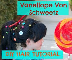 DIY Halloween costume Vanellope from Wreck it Ralph