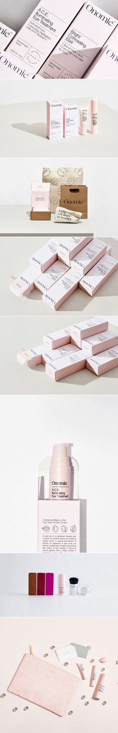 With Adorable Pink Packaging Onomie Beauty Is Here To Stand Out — The Dieline   Packaging & Branding Design & Innovation News