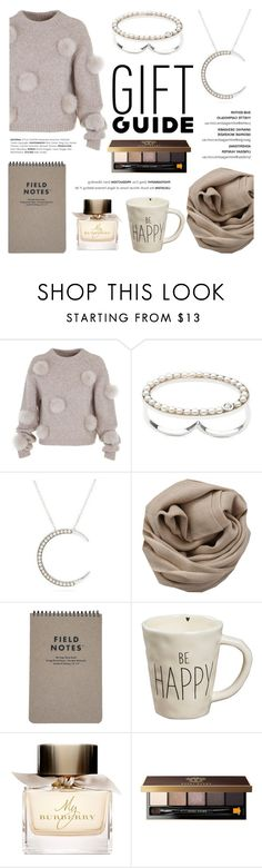 """""""Holiday Gift Guide: Your Squad"""" by littlehjewelry ❤ liked on Polyvore featuring TIBI, Brunello Cucinelli, Natural Life, Burberry, Bobbi Brown Cosmetics, giftguide, squad, contestentry, pearljewelry and littlehjewelry"""
