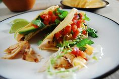 Grilled Mahi Mahi Tacos just sub the taco shells!! This is great as a salad!
