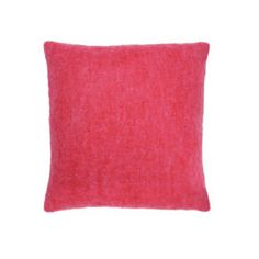 Heal's Supersoft Mohair Cushion Pink Melange = texture + colour pop #healschallenge