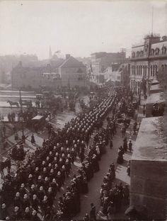 Départ pour la guerre des Boers, 1899