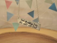 Best confirmation gifts for girls google search gift ideas god is within her she will not fall feminist christian necklace confirmation gift first negle Choice Image
