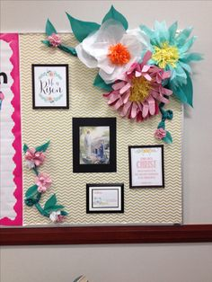 Relief Society Bulletin Board -Spring/Easter