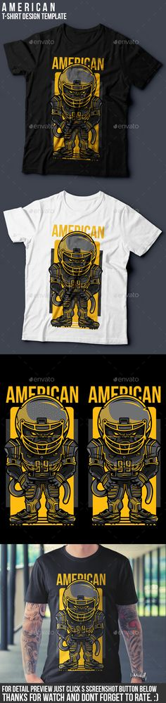 American TShirt Design — Vector EPS #event #team • Available here → https://graphicriver.net/item/american-tshirt-design/19343657?ref=pxcr