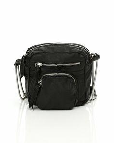 Erbs & Bjerke lille taske i sort lædder til 600 kr/$67.