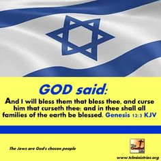 I thank YOU FATHER for the many BLESSINGS I have received from YOU over the years I have Supported ISRAEL. .