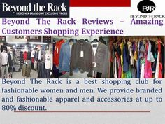 about Beyond The Rack that it is internet shopping portal for all the latest clothes and fashionable accessories at very low price. Latest Clothes, Latest Outfits, Beyond The Rack, Direct Marketing, Portal, Branding Design, Internet, Shopping, Accessories