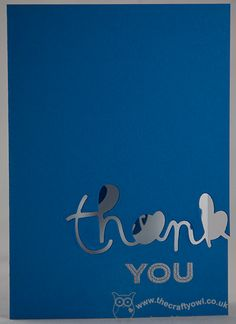One Layer Thank You Expressions Thinlits, Simply Celebrate, Heat Embossing, One Layer Card, Masculine Thank You Card, Joanne James Stampin' Up! UK Independent Demonstrator, blog.thecraftyowl.co.uk