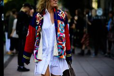 As with every other fashion week, individuals flocked to Stockholm's latest…