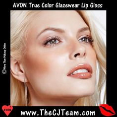 #Avon True Color #Glazewear Lip Gloss.  #Shine in a single sweep,, our # 1 lip gloss new and improved. Glazewear delivers high shine, rich color, and instant moisturization. Reg. $8. Shop online with FREE shipping with any $40 online Avon purchase #CJTeam #Sale #TrueColor #Lips #Lipgloss #Glazewear #C3 #Makeup #Cosmetics Shop Avon Online @ www.TheCJTeam.com