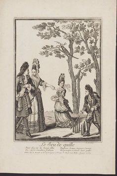 c1680-1700 | Nicolas Arnoult | Le Jeu de Quille