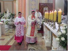 Dom Antonio Keller, na Missa da Ceia do Senhor (2012)