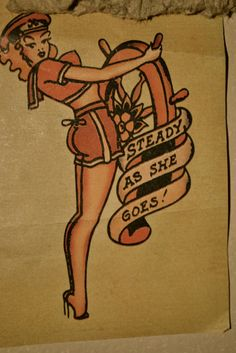 sailor jerry flash, steady as she goes