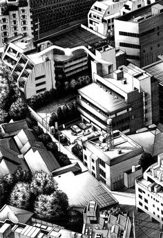23-Kiyohiko-Azuma-Architectural-Urban-Sketches-and-Cityscape-Drawings-www-designstack-co