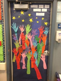 Red Ribbon Week Door Decorating Contest Reach for you Dreams