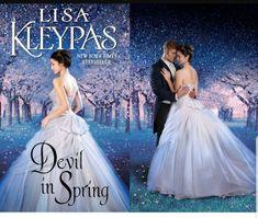 Devil in Spring by Lisa Kleypas - 2 Image Cover Historical Romance Novels, Romance Novel Covers, Romance Books, Julie Garwood, Image Cover, Fantasy Art Women, Lisa, Book Club Books, Book Clubs