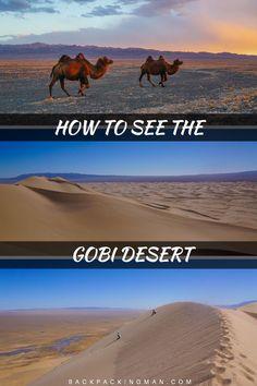 Backpacking in Mongolia - The Stunning Gobi Desert