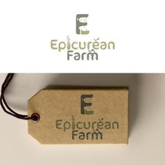 Create a clever negative space logo for Epicurean Farm - a community supported agriculture business by Bender Design