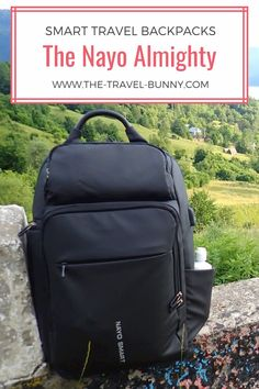 Smart travel backpacks: The Nayo Almighty - ModaHaberci Travel Gadgets, Travel Hacks, Travel Ideas, Travel Inspiration, Packing List For Travel, Traveling Tips, Packing Lists, International Travel Tips, Backpack Reviews