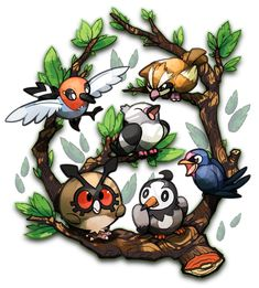 Birdies by Stormful on deviantART