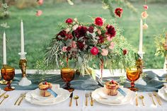 Sweet Autumn wedding inspiration   Photo by Callie Hobbs Photography   Read more - http://www.100layercake.com/blog/?p=80449