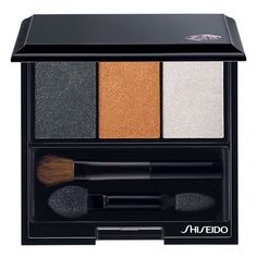 Shiseido Luminizing Satin Eye Color Trio ($33) ❤ liked on Polyvore featuring beauty products, makeup, eye makeup, eyeshadow, beauty, eye shadow, shiseido eye shadow, shiseido eye makeup, palette eyeshadow and shiseido