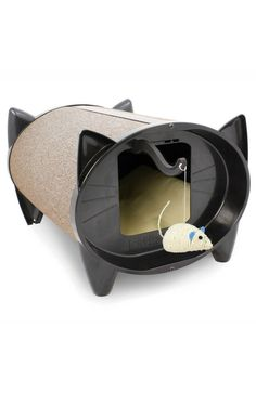 The Katkabin outdoor cat house is the ideal outdoor cat shelter for all weather protection whilst the new SkratchKabin cat bed cat scratcher is the purrrfect indoor cat scratching furniture. Crazy Cat Lady, Crazy Cats, Pet Shop, Cat Scratcher, Cat Condo, Outdoor Cats, Indoor Outdoor, Scratching Post, Cat Furniture