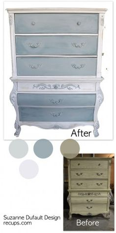 loads of furniture makeovers on this page
