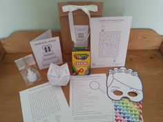 The Big Day Colouring Set Bride & Bride Edition: Gay Wedding Busy Bag (Age 6 to 10 Years) Children's Wedding Favour on Etsy, $14.80 AUD