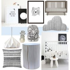 """""""Nordic nursery"""" by sofiehoff on Polyvore"""