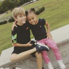 "Grayson Chrisley With Niece Chloé Chrisley "" CoCo """