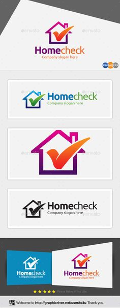 Home Check — Photoshop PSD #hotel #home • Available here → https://graphicriver.net/item/home-check/10140056?ref=pxcr