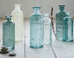 beautiful recycled glass jugs  http://rstyle.me/n/h25tzpdpe