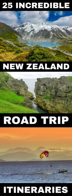 Looking for New Zealand road trip ideas? These New Zealand itineraries can help everyone from two days in the North Island to a month in New Zealand