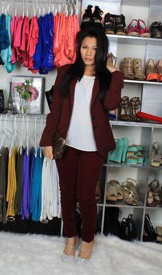 Blazer outfits, Fashion blazer,