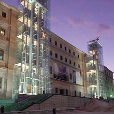 Museo Reina Sophia in Madrid. Where my love of Dali began.