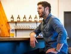 Jensen Ackles Brasserie Family Business Beer Company 5/01/18.🍺🍻