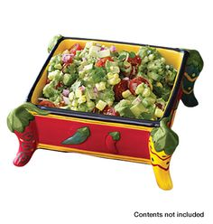 Spicy Hot Serving Dish Item # 837-935 / Price: $14.99  Your passport to fiesta fun!!! Great for serving dips, salsa, chips or nuts. Get it today for your next party! http://abagtas.avonrepresentative.com/