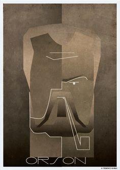 Orson Welles    Federico Babina    http://federicobabina.com/