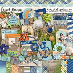 Coastal Getaway by Meghan Mullens & Traci Reed - http://www.sweetshoppedesigns.com/sweetshoppe/product.php?productid=23635=508=1