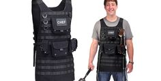 Featured Image for Tactical BBQ apron