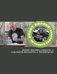 Buddy Rhodes Catalog of Concrete Products & Techniques Cleaning Granite Counters, Cheap Kitchen Countertops, Painting Kitchen Countertops, Cement Countertops, Bathroom Countertops, Concrete Table Top, Concrete Wood, Concrete Projects, Concrete Sculpture