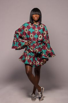 8a5812785e2c4 ♥NEW The Claire Dress 2 Prints Available by DemestiksNewYork African  Inspired Fashion