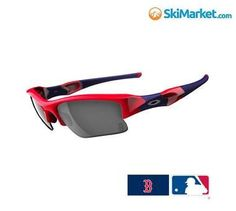 oakley prizm baseball flak jacket xlj sunglasses  oakley red sox flak jacket \u2013 included with each pair of oakley baseball flak jacket xlj sunglasses is a special edition mlb swede microfiber cleansing