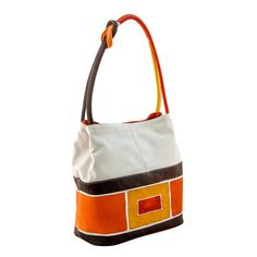 ASTORE BAG Acquerello Terra Art - Genuine Leather 100% - HANDPAINTED - Made  in Italy 4456a185e8a