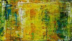 "Saatchi Art Artist Thomas Lamic; Painting, ""Yellow World"" #art"